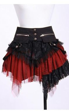 Little longer than this http://www.katesclothing.co.uk/RQBL-Gothic-Pirate-Skirt-p/rqbl21034.htm