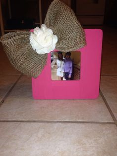 My DIY picture frame