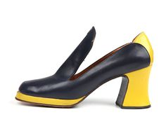 Martinelli - 1970s.    I loved the early 70's shoes!  They were colorful and stylish.  Wish I'd kept mine.  bnp