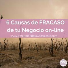 6 Causas de FRACASO de tu Negocio on-line http://blgs.co/qHs6u4