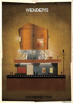 Galeria - ARCHIDIRECTOR: Uma cidade inspirada em diretores de cinema - 19