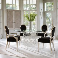 Bubbles Up Dining Table- Caracole Furniture | Luxe Home Philadelphia