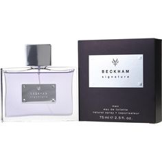 Edt spray oz design house: david beckham year introduced: 2008 fragrance notes: aromatic, marine, ozonic, aquatic, woody recommended use: casual