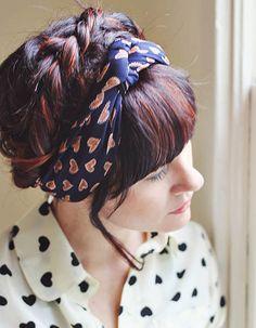 How to Wear a Turban Headband  #styletips #fashiontips