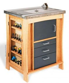 Router Work Station - Canadian Woodworking Magazine