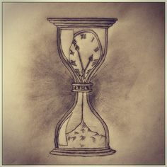 What does melting clock tattoo mean? We have melting clock tattoo ideas, designs, symbolism and we explain the meaning behind the tattoo. Time Tattoos, Body Art Tattoos, New Tattoos, Sleeve Tattoos, Tattoos For Guys, Cool Tattoos, Hourglass Drawing, Hourglass Tattoo, Sand Hourglass