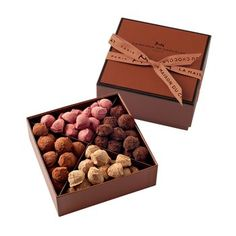 Assorted Truffle Chocolate Box. Discover the exquisite chocolate gift boxes from renowned French chocolatier La Maison du Chocolat $50.00