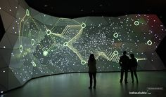 Interactive showroom provided by Insoluble equipment – Interactive – Exhibition Stand Interactive Projection, Interactive Exhibition, Interactive Walls, Interactive Display, Projection Mapping, Interaktives Museum, Museum Exhibition, Interaktives Design, Booth Design
