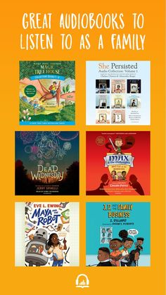 Transform summer reading with vibrant audiobooks for kids. Whether your family falls in love with one special narrator or a full cast production, audiobooks bring stories to life. Try listening on a long car trip, or on a quiet afternoon while doing a puzzle, building with Legos, or simply relaxing. Kid Books, Children's Books, Audio Books, Books To Read, Full Cast, Teaching Techniques, Toddler Learning Activities, Spiritual Health, Book Shelves