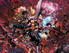 X-Men: Hellbound - Harvey Tolibao