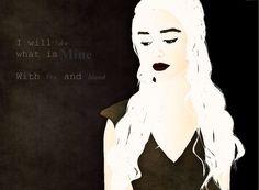 Khaleesi by Ahriiah.deviantart.com on @DeviantArt