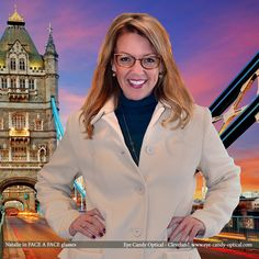 Natalie takes London by storm wearing her new designer glasses by Face a Face.  Eye Candy - You just can't Brexit from the Finest European Eyewear Fashion! Eye Candy Optical Cleveland - The Best Glasses Store! (440) 250-9191 - Book an Eye Exam Online or Over the Phone www.eye-candy-optical.com