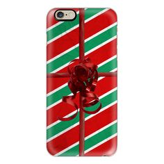 iPhone 6 Plus/6/5/5s/5c Case - Christmas Present ($40) ❤ liked on Polyvore featuring accessories, tech accessories, phone cases, phone, christmas, tech, iphone case, iphone cover case and apple iphone cases