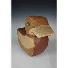 How clever they were way back in the A footstool aka ottoman .aka Hassock which could also function as a toy! The Hassock has wooden wheel. Art Nouveau, Art Deco, Wooden Wheel, Ceramic Jewelry, Moleskine, Ottoman, Shapes, Ceramics, Toys