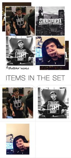 """""""Intro; Josh ( Zerkaa )"""" by thatemo-anons ❤ liked on Polyvore featuring art and meetthatemoanonsboys"""