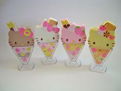 Hello Kitty Ice Cream erasers, I want them all!!!