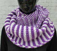 SNOOD / Echarpe / scarf / rundschal - laine/alpaga/ wool/ alpaca de la boutique TricotDeJulie sur Etsy
