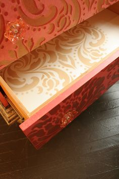 """detail of """"Reniassance Chest"""" by Linda Gale for Southern Inspirations"""
