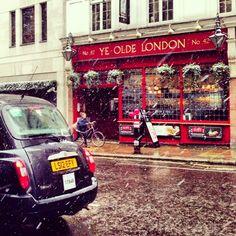 { On the Blog } Snowy London | Harriet Ward - January 2013