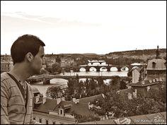 Con los Puentes de Praha desde Letná (Praga, República Checa)
