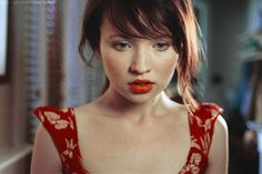 Emily Browning...I think she's glorious.