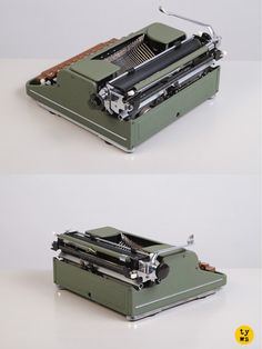 A rare Olympia Orbis, a typewriter full of character and history!