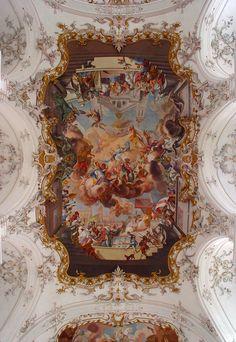 Diessen Fresko The post Diessen Fresco appeared first on Bestes Soziales Teilen. Italian Renaissance Art, Renaissance Kunst, Renaissance Paintings, Aesthetic Painting, Aesthetic Art, Fresco, Baroque Art, Ceiling Art, Baroque Architecture