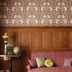Wallpaper - Morris & Co - Archive - Pimpernel - Paint & Paper Ltd #DIY #InteriorDesign
