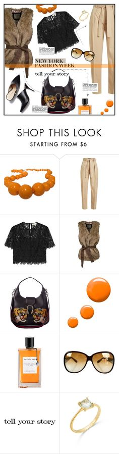 """It's Always GuCCi"" by sibanesly ❤ liked on Polyvore featuring Furla, Polo Ralph Lauren, Diane Von Furstenberg, WithChic, Gucci, Topshop, John Lewis, Bottega Veneta, Tim Holtz and NYFW"