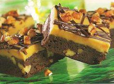 Peanut butter fudge Brownie bars