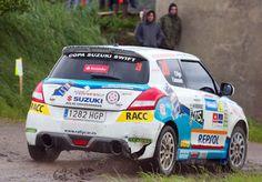 El equipo Suzuki-Repsol del Nacional de Rallyes y la Copa Swift, en el Rías Baixas | QuintaMarcha.com