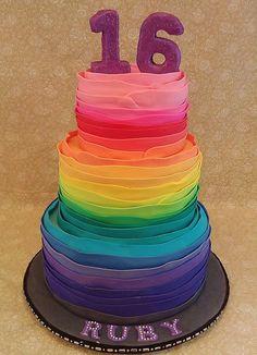 Rainbow Sweet 16