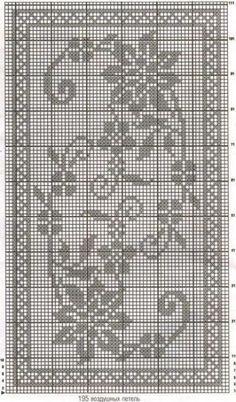 Kira scheme crochet: Scheme crochet no. 1731 - My WordPress WebsiteRectangular tablecloth with flowers - My WordPress WebsiteCrochet on Stylowi.Šeme za heklanje – Page wonderful pattern Crochet Table Runner Pattern, Crochet Doily Patterns, Thread Crochet, Crochet Motif, Crochet Doilies, Crochet Stitches, Knit Crochet, Crochet Ideas, Filet Crochet Charts