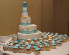 couture wedding cakes | Lighthouse Cake | Cakes | 3 Tier | Wedding | Event | Weddings