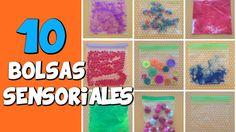 10 Bolsas sensoriales | Psicomotricidad fina y estimulación sensorial_ Eugenia Romero www.maestrosdeaudicionylenguaje.com