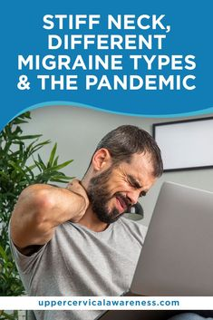 How does the pandemic aggravate or trigger migraines and neck pain? What's the connection between these different things? More importantly, is there a way to experience relief? Silent Migraine, Ocular Migraine, Migraine Triggers, Migraine Attack, Upper Cervical Chiropractic, Chiropractic Care, Neck Pain Relief, Natural Pain Relief, Menstrual Migraines