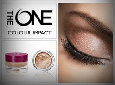 The ONE Impact Cream Eye Shadow. By Oriflame ! http://gr.oriflame.com/recruits/online-registration.jhtml?sponsor=361593&_requestid=2246350 για τις αγορές σου ....