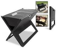 portable folding X-Grill