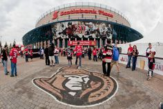 The Official Site of the Ottawa Senators Canadian Tire Centre, Ice Hockey Teams, National Hockey League, Sports Activities, Palaces, Ottawa, A Team, Nhl, Ontario