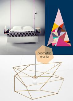Geometric shapes in Interior Design.  You'll get the point pretty quickly....
