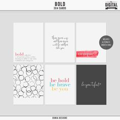 Free Bold Journal Ca