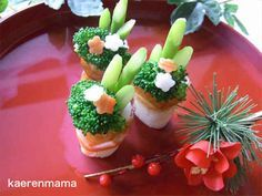 Powered by Ameba : Japanese New Year Food Design, E Design, Japanese New Year Food, Japanese Dishes, Cute Food, Good Food, Yummy Food, Bento Recipes, Cooking Recipes