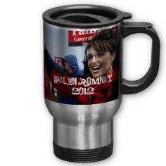 Sarah-Palin-, MittRomney, Palin/Romney 2012, Pa... Coffee Mug