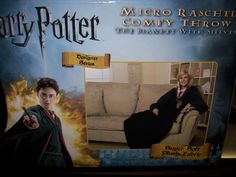 darn it. i finally found a snuggie i want: Harry Potter Micro Rashel Comfy Throw Blanket with Sleeves