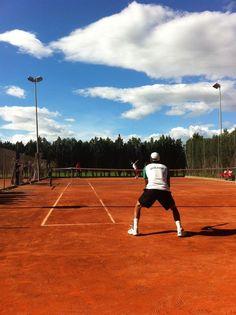 Rafa: Entrenando un dia más con Federico Zeballos, de Bolivia! :)  One more day practicing with Federico Zeballos, from Bolivia! :)