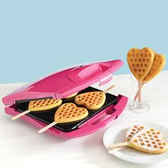 Babycakes Heart Waffle Maker. NEED THIS NOW!!!