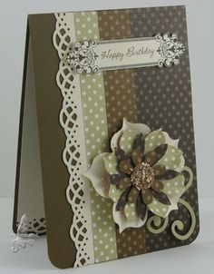 Stamps: S/U's Creative Elements  Card and Papers: Soft Suede, River Rock, Very Vanilla, DSP Paper Pack - Neutrals  Ink:Early Espresso