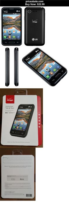 Cell-Phones: BRAND NEW LG OPTIMUS ZONE 2 -4GB- VERIZON PREPAID ANDROID SMARTPHONE NO CONTRACT - BUY IT NOW ONLY $22.99