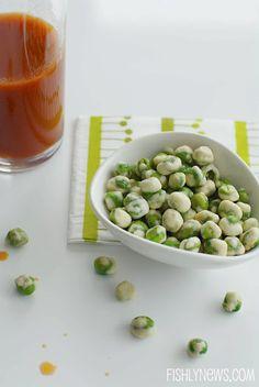 homemade wasabi peas