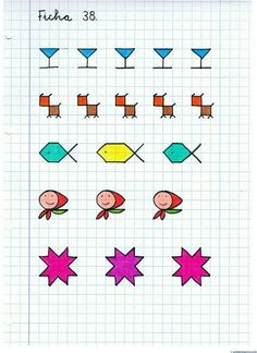 Blackwork Patterns, Blackwork Embroidery, Drawing For Kids, Art For Kids, Graph Paper Art, Fall Preschool, Paper Drawing, Kids Writing, Puzzles For Kids